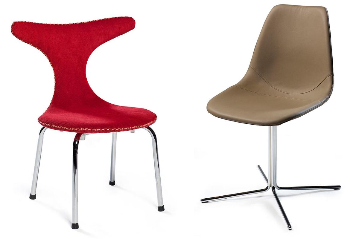 Dan form for Sedie design danese
